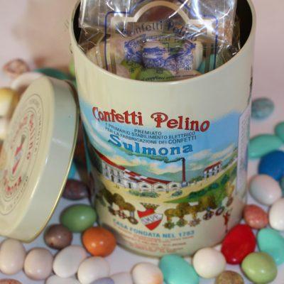 Zuckerdragées in dekorativer 500g Schmuckdose