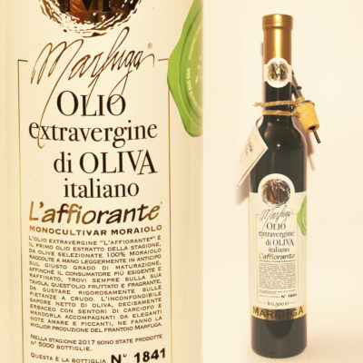 Natives Olivenöl extra in 500ml Flasche