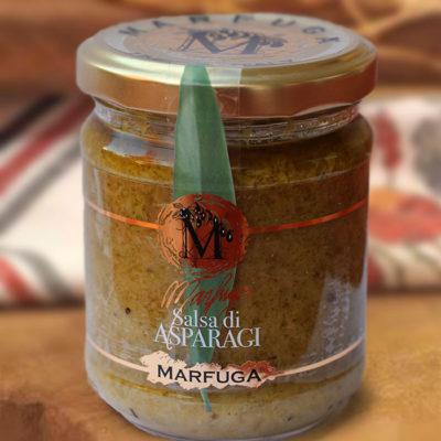 Spargel-Sauce in 180g Glas
