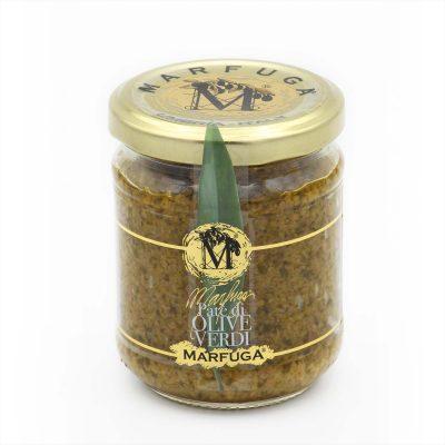 grüne Olivenpaste in 180g Glas
