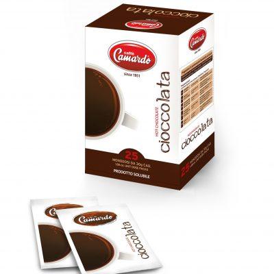 25 heiße Schokolade-Tüten à 30g, 750g