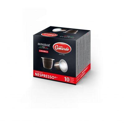 10 Kaffee-Kapseln Espresso Caraibico in einem Karton