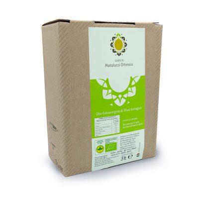 Bio Natives Olivenöl extra in 3l Bag in Box