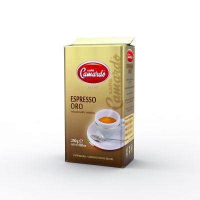 gemahlener Kaffee Espressp Oro in 250g Vakuumverpackung