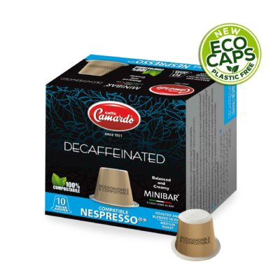 10 Nespresso-kompatibler, kompostierbare Nespresso-Kapseln 55g