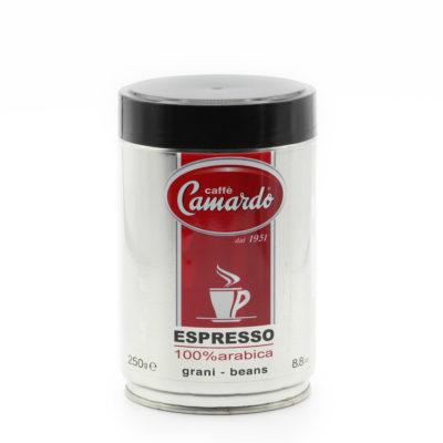 arabica Kaffeebohnen in 250g HiTech-Dose