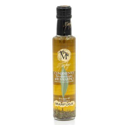 Natives Olivenöl extra mit Rosmarin in 250 ml Flasche