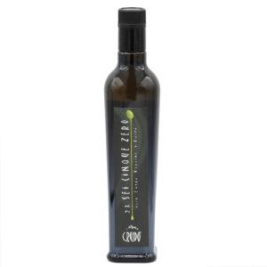 italienisches natives Olivenöl extra in 0,5l Glasflasche