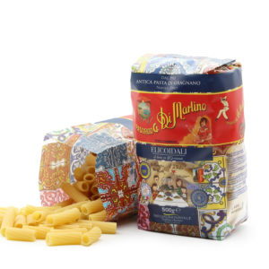 Elicoidali 500g Nudel-Packung in D&G-Design