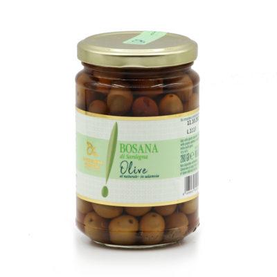 in Salz und Wasser eingelegete Oliven, 280g-Glas