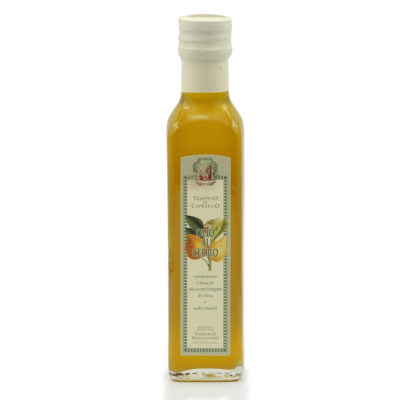 Natives Olivenöl extra mit Zedernfrucht-Aroma 250ml Flasche