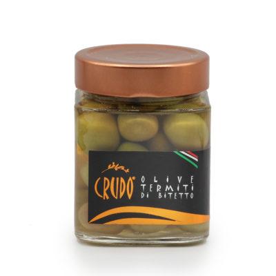 Oliven in Salzlake eingelegt, in 290g Glas
