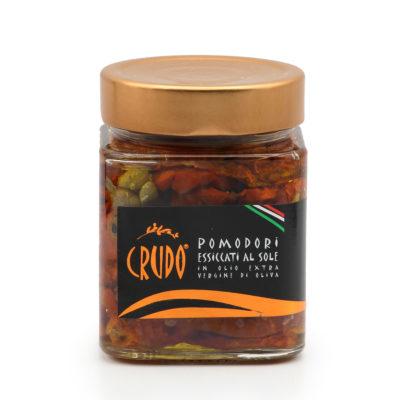 in Olivenöl eingelegte, getrocknete Tomaten in 290g Glas