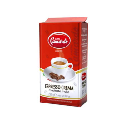 gemahlener, gerösteter Kaffee Expresso Crema, 250g