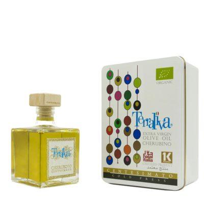 natives Olivenöl extra, biologisch, halal, koscher in 0,25l transparentem Glasflasche
