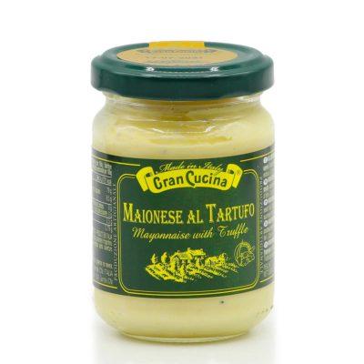 Mayonnaise mit Trüffel in 120g Glas