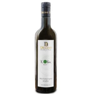 natives Olivenöl extra in 0,75l Glasflasche