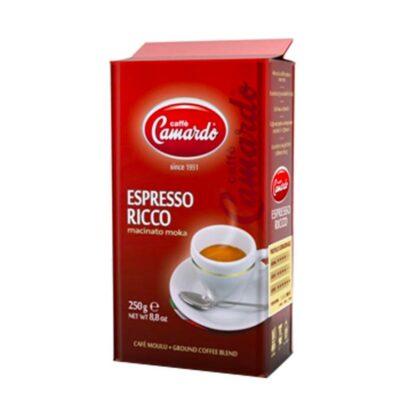 gemahlener, vakuumverpackter Kaffee in 250g Beutel