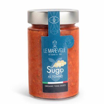 Bio Tomaten-Thunfischsauce in 200g Glas