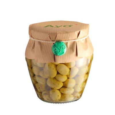 eingelegte Ackerbohnen in 180g Schraubglas