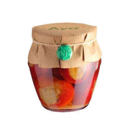 gefüllte Kirschpaprika in 180g Schraubglas