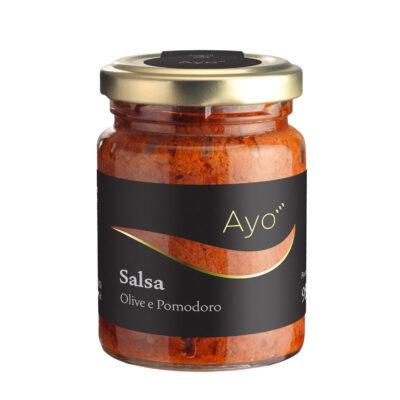 Oliven-Tomaten-Salsa in 95g Schraubglas