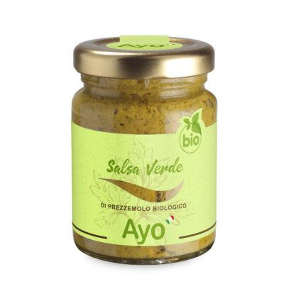Bio grüne Salsa in 95g Schraubglas
