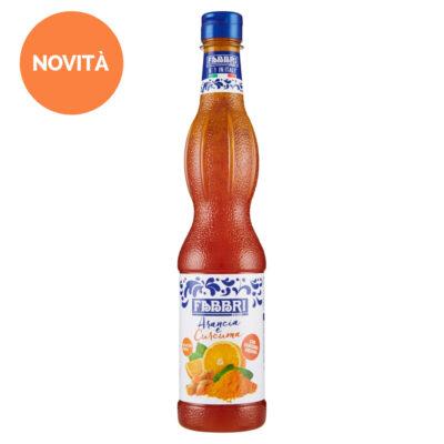 Orangen-Kurkuma-Sirup in 560ml Plastikflasche