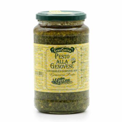 Basilikum Pesto in 500g Schraubglas