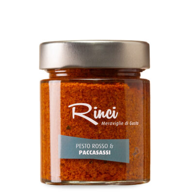 rotes Meerfenchel Pesto in 140g Schraubglas