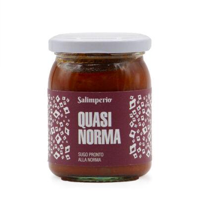 Tomaten-Auberginensauce in 205g Schraubglas