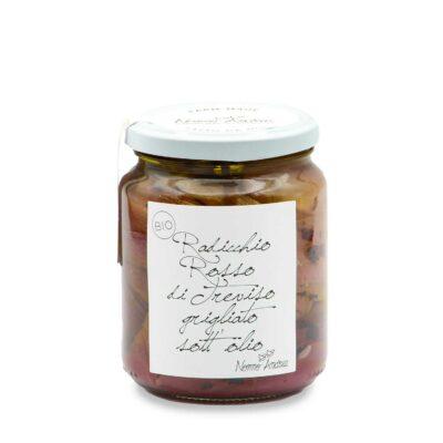 eingelegter Raddicchio in 390g Schraubglas